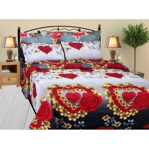 Poly Cotton Double Bed Sheets 02