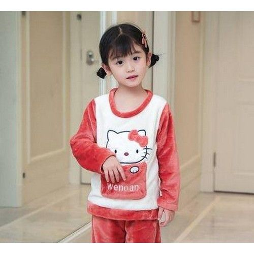 Imported Cute Magenta Sweater With Trouser For Girls 01