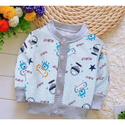 Imported Fabulous Cotton Printed Sweater For Kids 01
