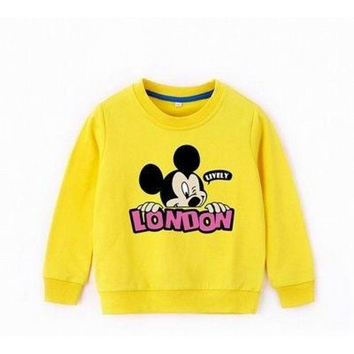 Imported Disney Mickey Cotton Printed Round Neck Sweatshirt 05