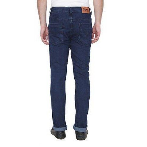 Men Cotton Blend Regular Fit Jeans 1