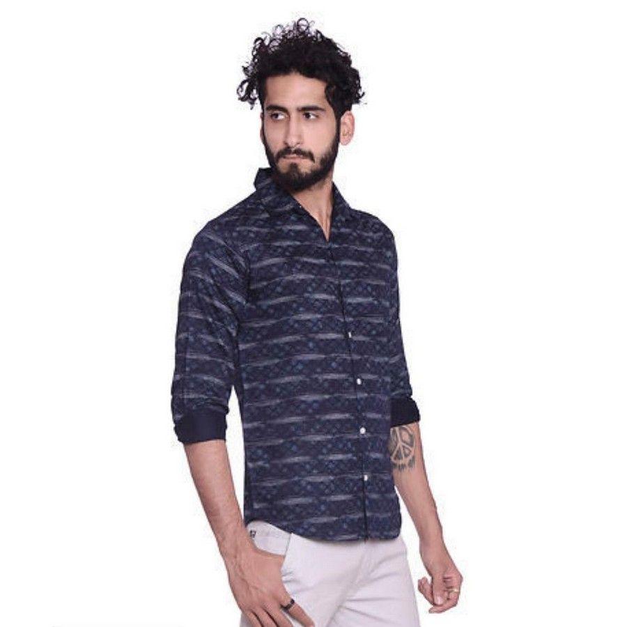 Stylish Casual Cotton Men Shirts 1