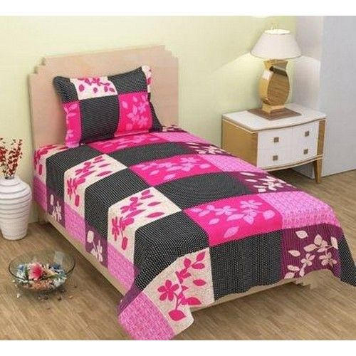 3D  Printed Polycotton Single Bedsheet 04