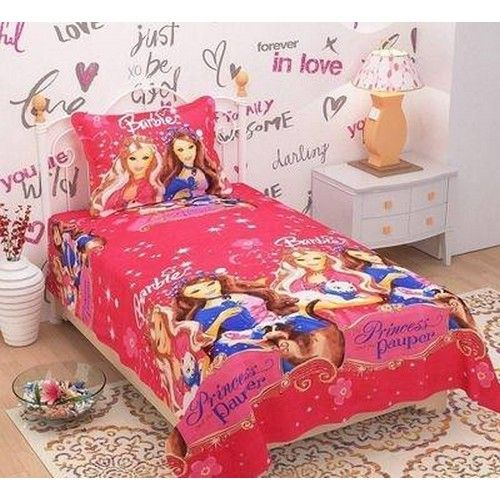 Digital Printed Poly Cotton Single Bed Sheet 04