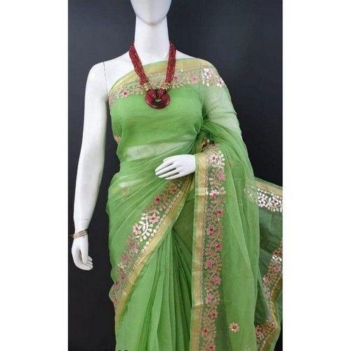 Stylish Trendy Kota Doriya Women Sarees 2