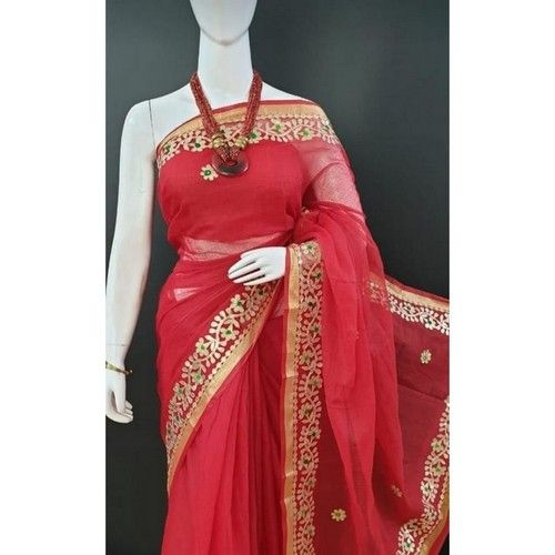 Stylish Trendy Kota Doriya Women Sarees 5