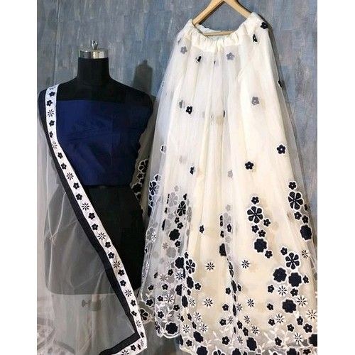 Mahika Partywear Net Women Lehengas 4
