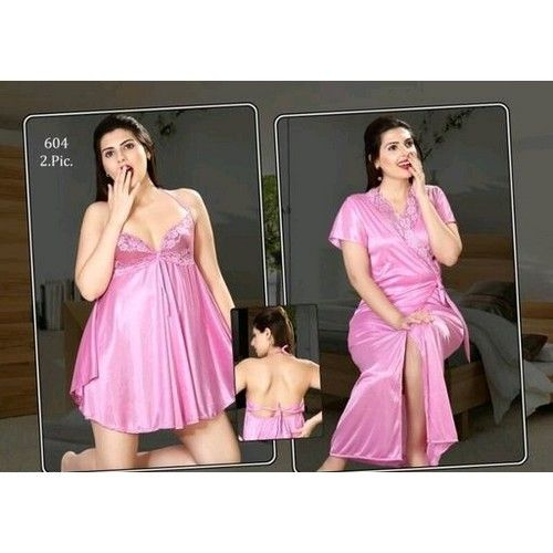 Fancy Satin Night Dresses 03