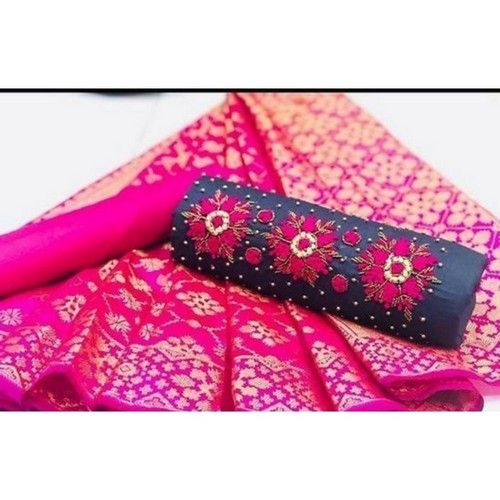 Khatli Work Trendy Cotton Dress Material 01