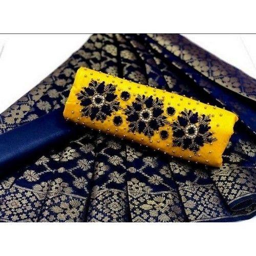 Khatli Work Trendy Cotton Dress Material 04